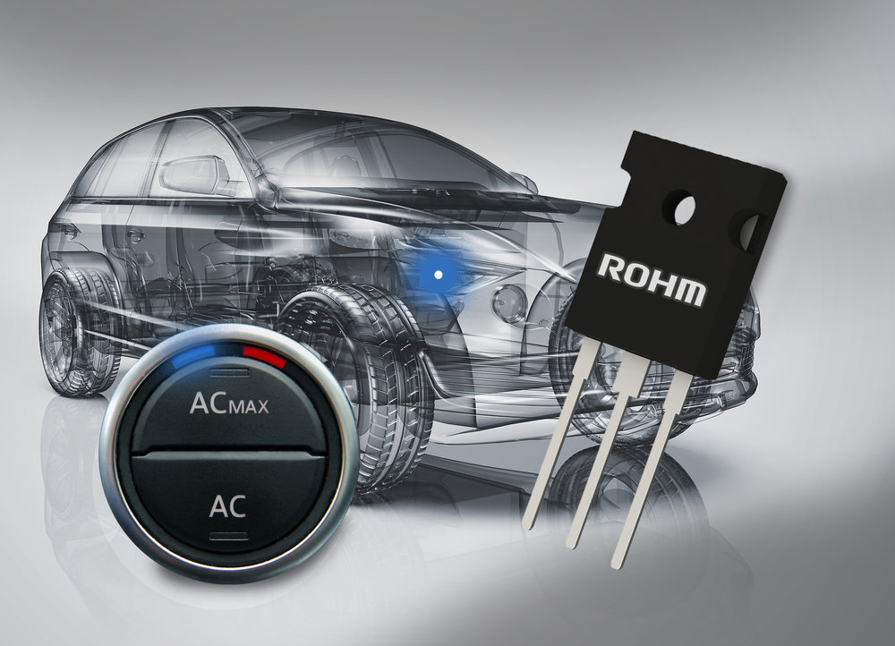 ROHM Offers Lineup of Automotive-Grade 1200V-Rated IGBT
