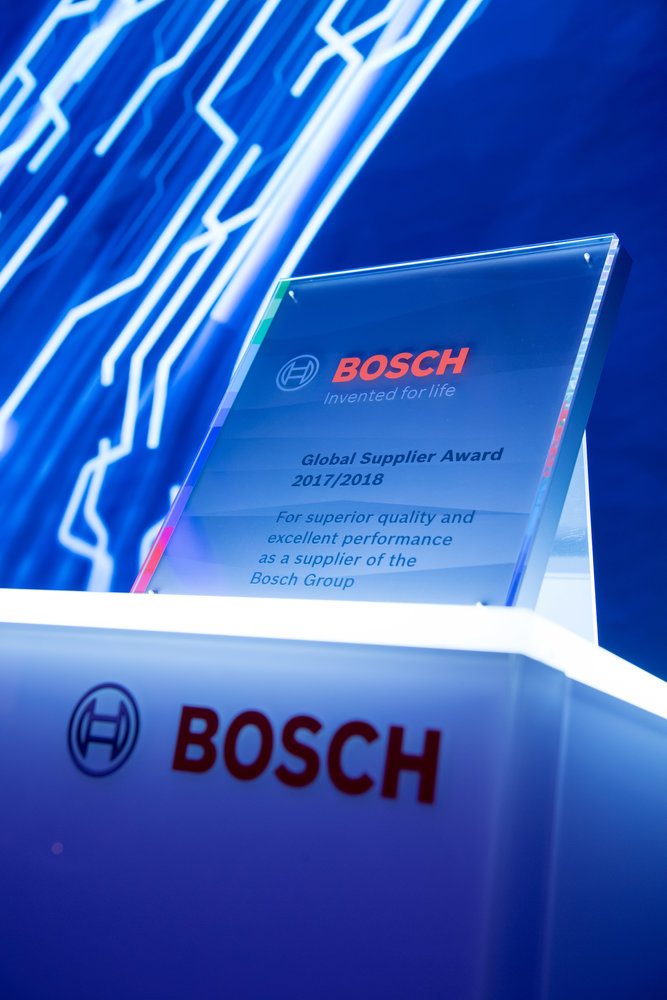 Nexperia honoured with Bosch Global Supplier Award