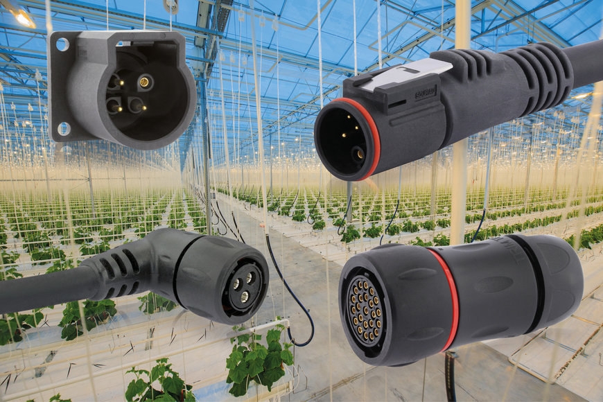 SOURIAU, a major player in connectivity for Smart Agriculture