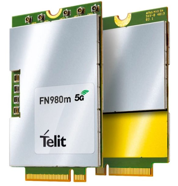 Telit FN980 and FN980m Modules are the First Certified for Use on Verizon's 5G Ultra Wideband and Nationwide