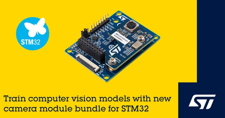 STMicroelectronics Powers Affordable Edge AI Development with Computer-Vision Launchpad for STM32 Microcontrollers